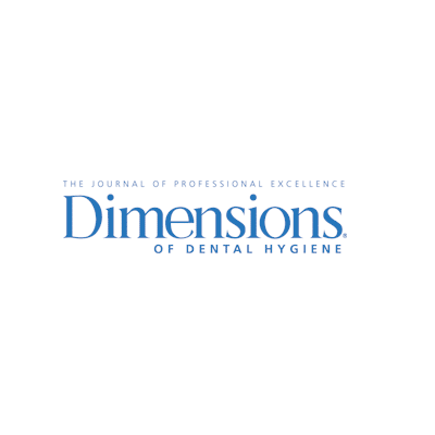 Featured on Dimensions of Dental Hygiene