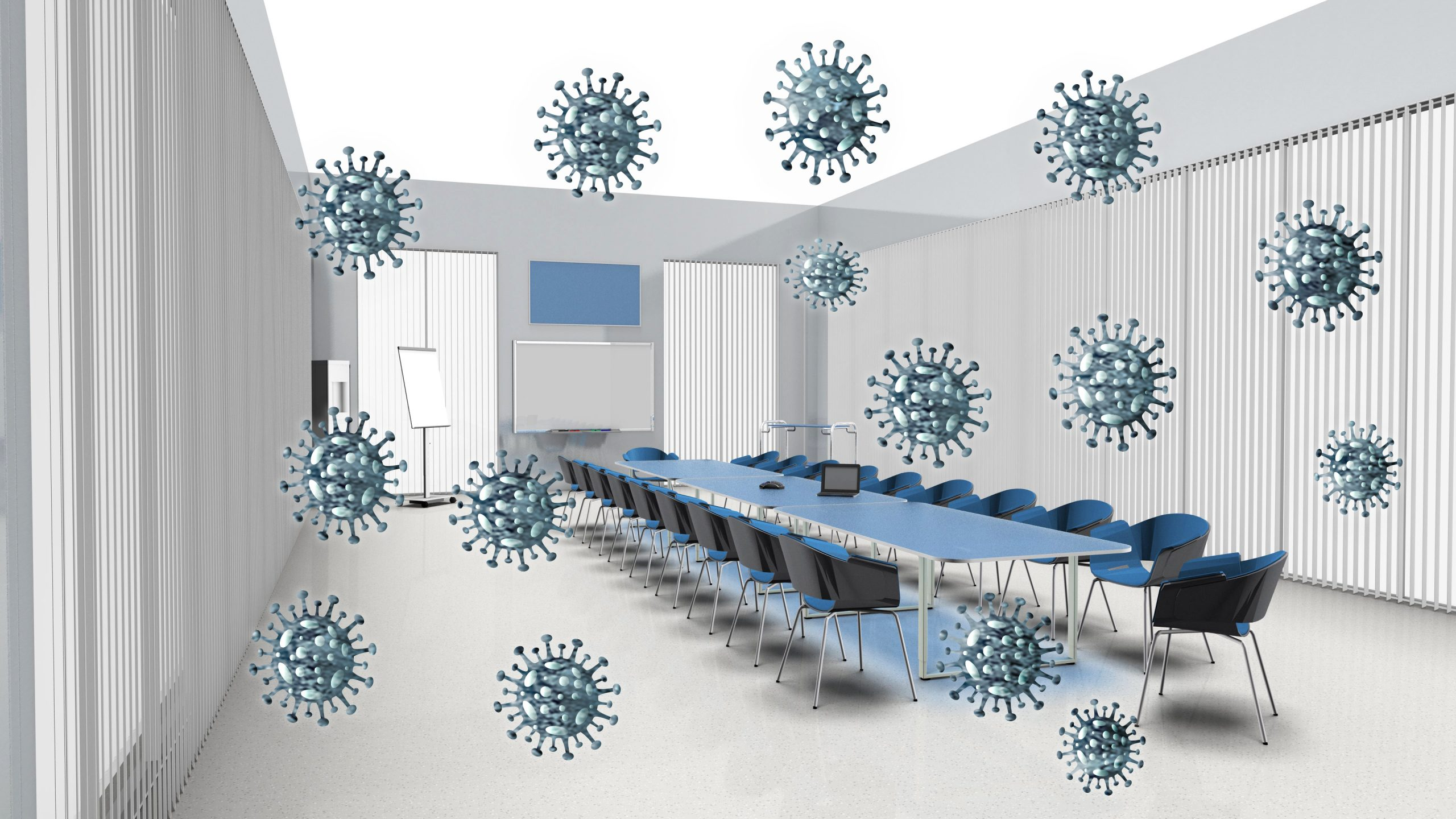 Active Air Disinfection with CASPR Versus HEPA Filters